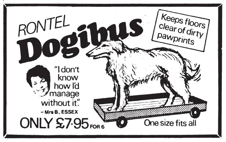 Dogs Pet Shop – Dog Gadgets – The Rondel Dogibus